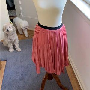 Free People lush knit skirt in salmon size M 🧶